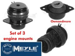 Engine Mount set 2.8 VR6 all years